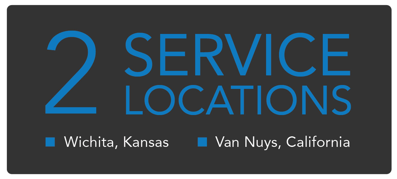 2 Service Locations