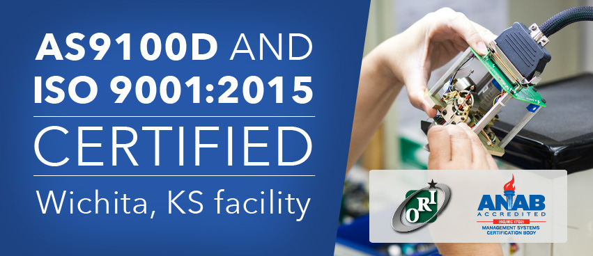 Mid-Continent is AS9100D and ISO 9001:2015 Certified