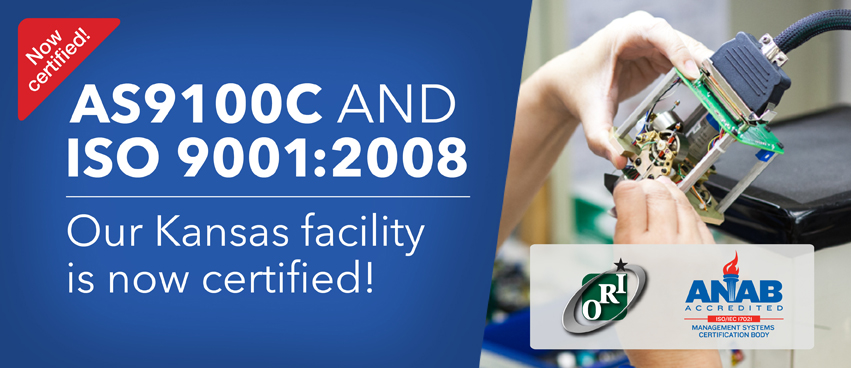 Mid-Continent Receives AS9100 Certification
