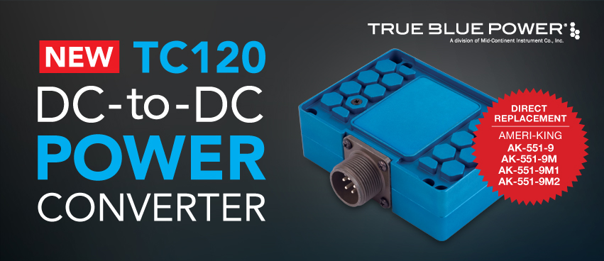 TC120 DC-to-DC Converter