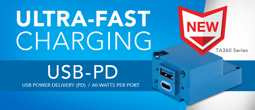 TA360 USB-PD Charging Port