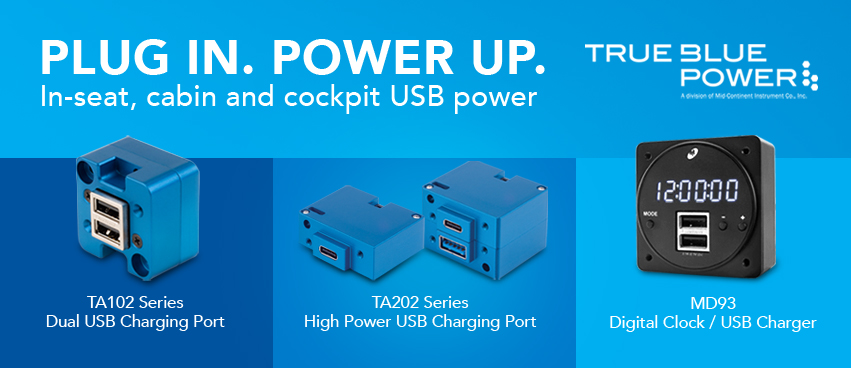 True Blue Power USB Charging Ports
