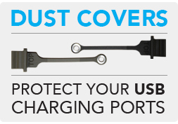 USB Charging Port Dust Covers