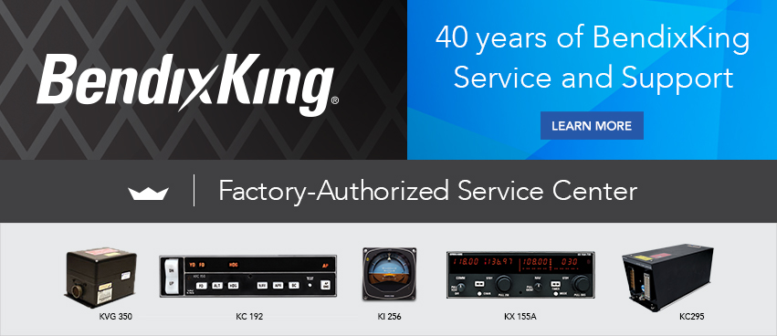 BendixKing Factory-Authorized Service Center