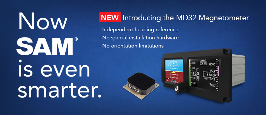 Introducing the new MD32 Magnetomerter — Now SAM is even spmarter