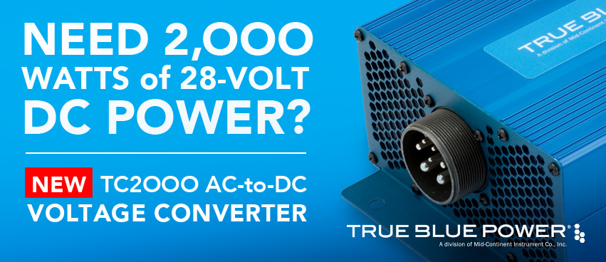 New True Blue Power TC2000 AC-to-DC Voltage Converter