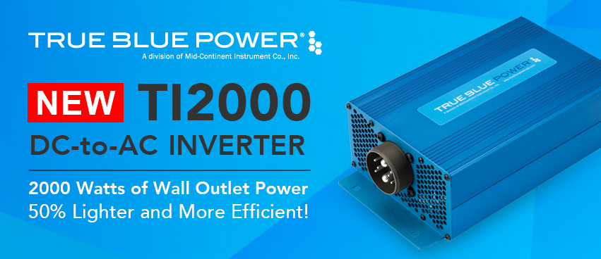 TI2000 2,000 watt DC-to-AC Inverter
