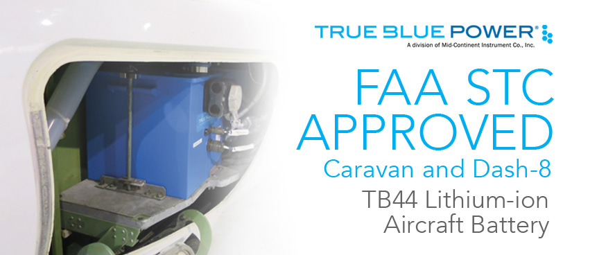 Caravan and Dash-8 — FAA STC Approved