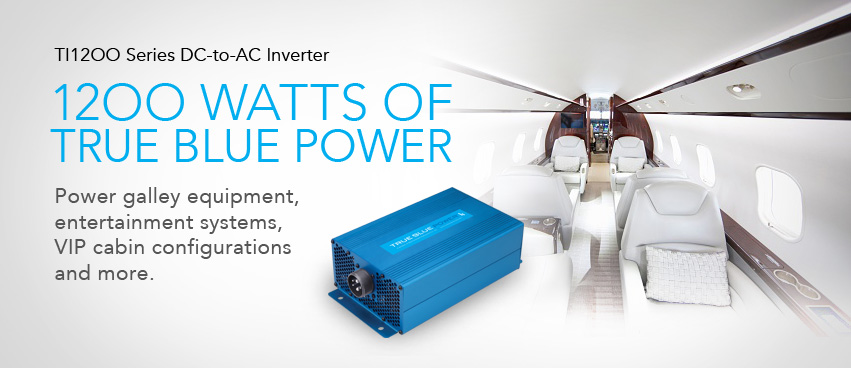 True Blue Power — TI1200 DC-to-AC Inverter