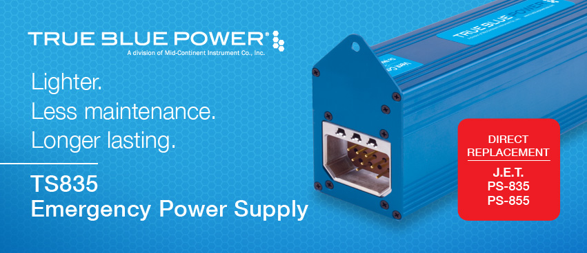 True Blue Power TS835 — Direct Replacement for J.E.T. PS-835 and PS-85
