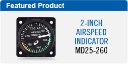 MD25-260 (MD25 Airspeed Indicator)