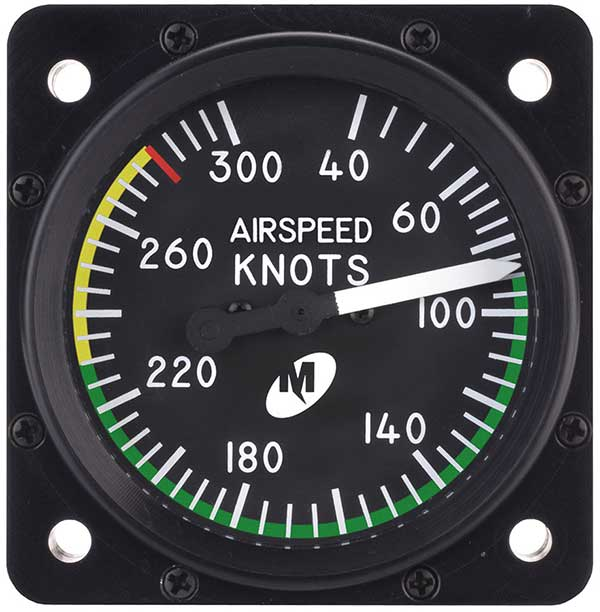 Airspeed Indicator — MD25-300