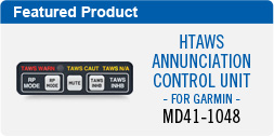 MD41-1048 HTAWS Annunciation Control Unit