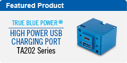 TA202 Series High Power USB Charging Port