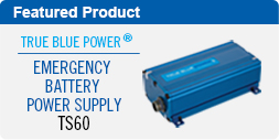 TS60 Emergency Battery Power Supply
