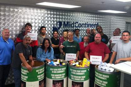 Mid-Continent California Food Drive