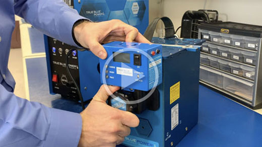 Easy, Automatic Charging for Lithium-ion Aircraft Batteries