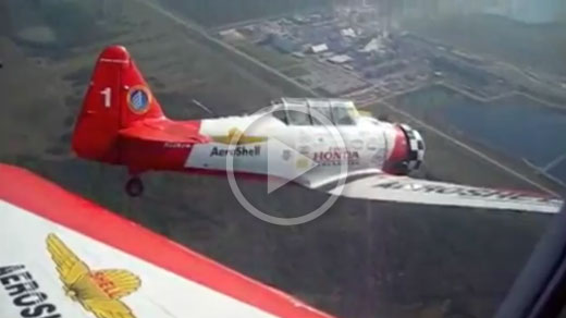 Video AeroShell Aerobatic Team